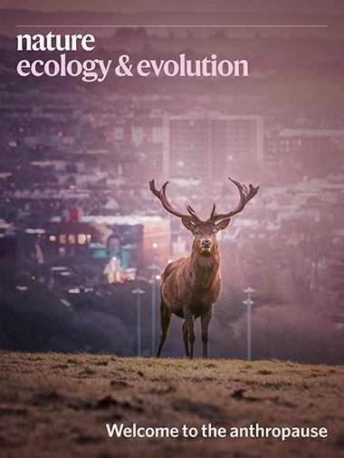 Nature Ecology & Evolution September 2020 cover